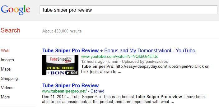 tube sniper pro review